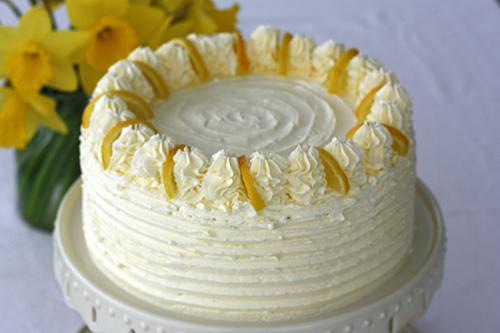 Lemon Cake at Howard Johnson