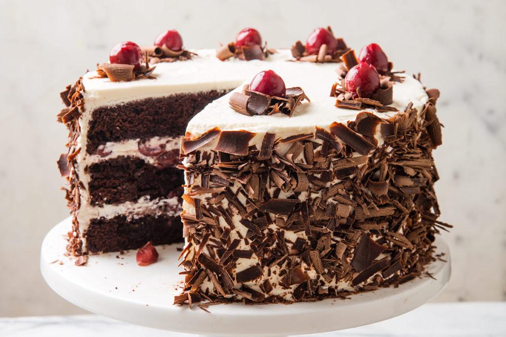 Black Forest Cake at Howard Johnson