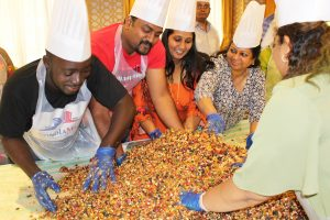 Cake Mixing Ceremony at Howard Johnson Dubai